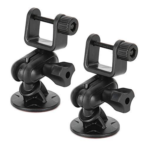 CHICIRIS Soporte de grabadora de Coche Ajustable para cámara de salpicadero dvr de Coche, Soporte de cámara de salpicadero, Mini grabadora de Coche dvr de Coche(U Head)
