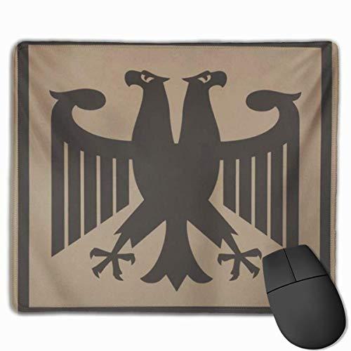 Bonita alfombrilla de ratón para juegos, alfombrilla de escritorio, alfombrilla de ratón pequeña para ordenadores portátiles, alfombrilla para ratón, fantástico alemán, águila imperial, herencia de av