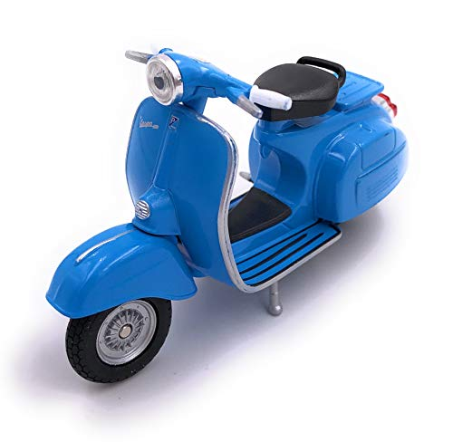 H-Customs Vespa Motorroller Roller Cruiser Lizenzprodukt 1:18 Blau