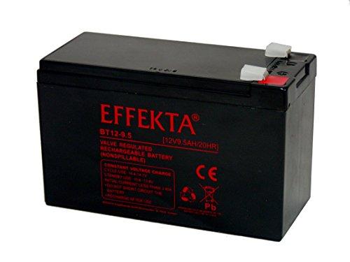 Batteria compatibile per motore elettrico, motore fuoribordo esterno barca 12 V 9,5 Ah AGM, piombo