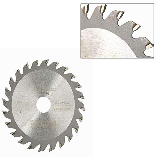 Cirkelzaagblad, 85 mm x 15 mm, 24 tanden, hardmetaal, cirkelzaag, houtbewerking, slijpschijf voor roterende gereedschappen