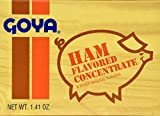 Goya Ham Flavored Concentrated Seasoning 1.41oz   Sabor a Jamon (Pack of 02)