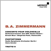 Zimmerman: Cello Concerto, Photoptosis by Various Artists (2012-09-12)