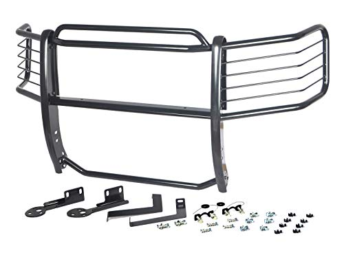 Hunter Premium Truck Accessories Black Grille Guard Fits 09-14 Ford F-150 (4WD or 2WD w/Tow Hooks)