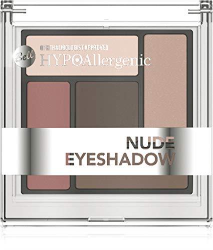 Bell HYPOAllergenic Paleta de sombras de ojos, tonos nude, n.º 01,...
