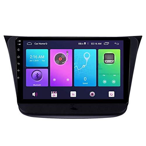 Android 10.0 Car Stereo Double Din Compatible con Suzuki WAGON R 2018-2019 Navegación GPS Unidad principal de 9 pulgadas Reproductor multimedia MP5 Receptor de video y radio con 4G WIFI DSP Carplay