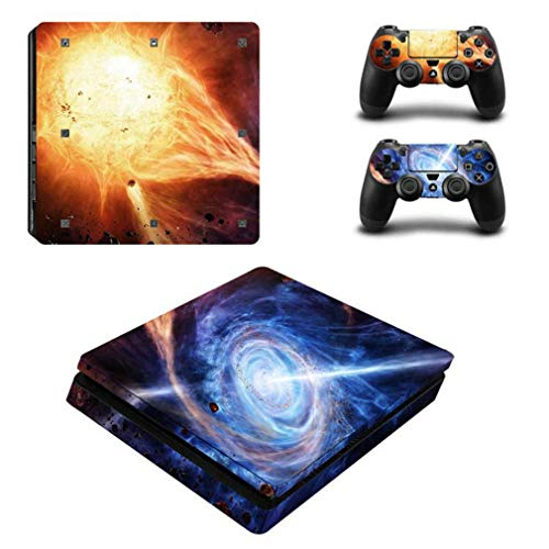 YISHO PS4 Slim Star Series Game Machine Stickers Color Stick
