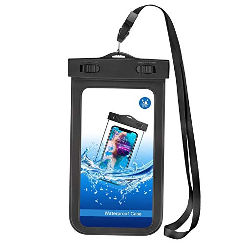 Waterproof Case Underwater Bag Floating for Moto Z Play Droid, Cover Touch Screen IPX8 Pouch Compatible with Motorola Moto Z Play Droid Illinois