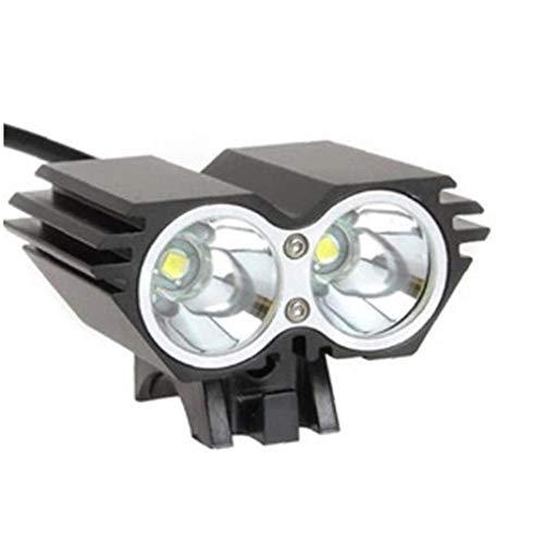 Fahrrad-licht-set, Super Bright Wiederaufladbare Fahrradbeleuchtung Mit 3 Lampes Fahrradlampe Und Sicheres Rücklicht Einfach Zu Fit Idealer Wahl Und Practical