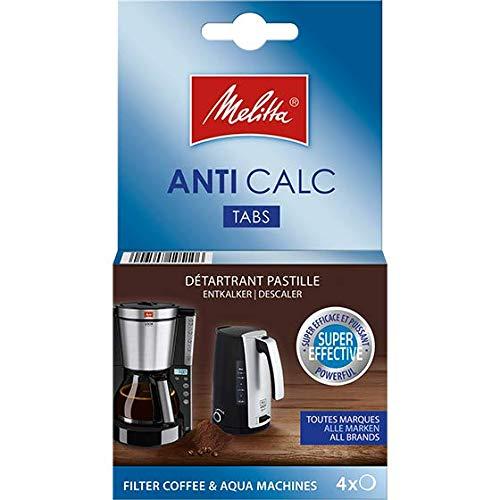 trouver une Melitta Filtre de rechange Machines à café et bouilloires 4 tablettes de détartrage anticalcaires 6762519