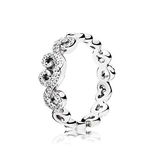 PANDORA Heart Swirls Ring