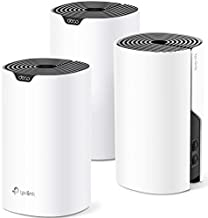 TP-Link Deco Mesh WiFi System (Deco S4) – Up to 5,500 Sq.ft. Coverage, WiFi Router and Extender Replacement, Gigabit Ports,Seamless Roaming, Parental Controls, Works with Alexa, 3-Pack