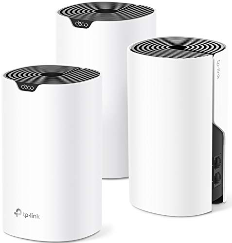 TP-Link Deco Mesh WiFi System (Deco S4) – Up to 5,500 Sq.ft. Coverage, Replaces WiFi Router and Extender, Gigabit Ports, Works with Alexa, 3-pack