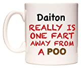 Daiton Really is ONE Fart Away from A Poo Taza por WeDoMugs®