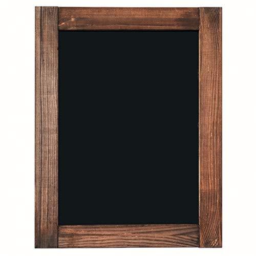 Chalkboard - Magnetic, Non-Porous - Framed Chalkboard - Vintage Decor - Chalk Board for Wedding, Kitchen, Bar, Restaurant, Menu & Home - Chalkboard Sign - 11 x 14 inches - Wall Mounted Chalkboard
