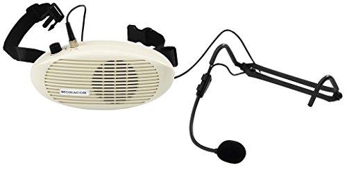 Monacor WAP-4 Mobiele stemversterker met dynamische microfoon