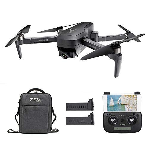 Goolsky SG906 PRO GPS RC Drone con Fotocamera 4K 5G WiFi 2 Assi Gimbal 25mins Tempo di Volo Brushless Quadcopter Seguimi MV Foto Gesto con Borsa Porta