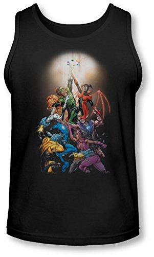 Green Lantern - - Gl nouveaux gardiens de Men # 1 Tank-Top, Small, Black