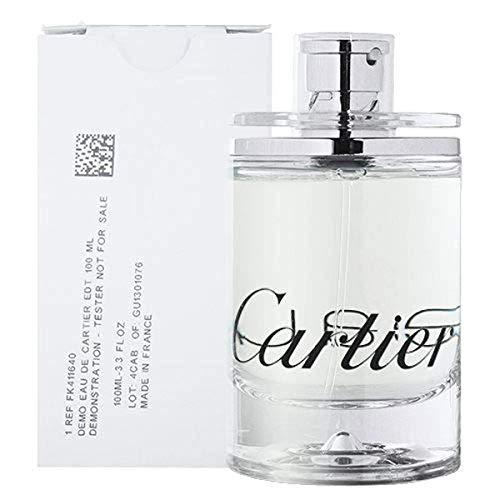 Cartier Eau de Cartier for Unisex Eau de Toilette Spray, 3.3 Ounce (Tester/Plain Box)
