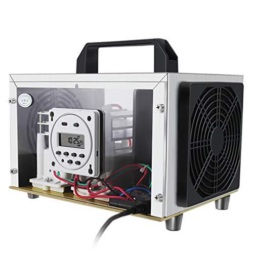 QMHG Generador de ozono Commercial 35000 MG/h purificador de aire para plantas de ganado, talleres alimentarios, oficina, filtro de aire O3 generador de ozono limpiador esterilizador