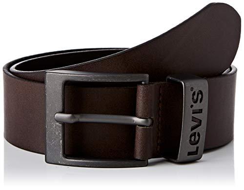 Levi's Ashland Metal Cintura, Brown, 90 Unisex-Adulto