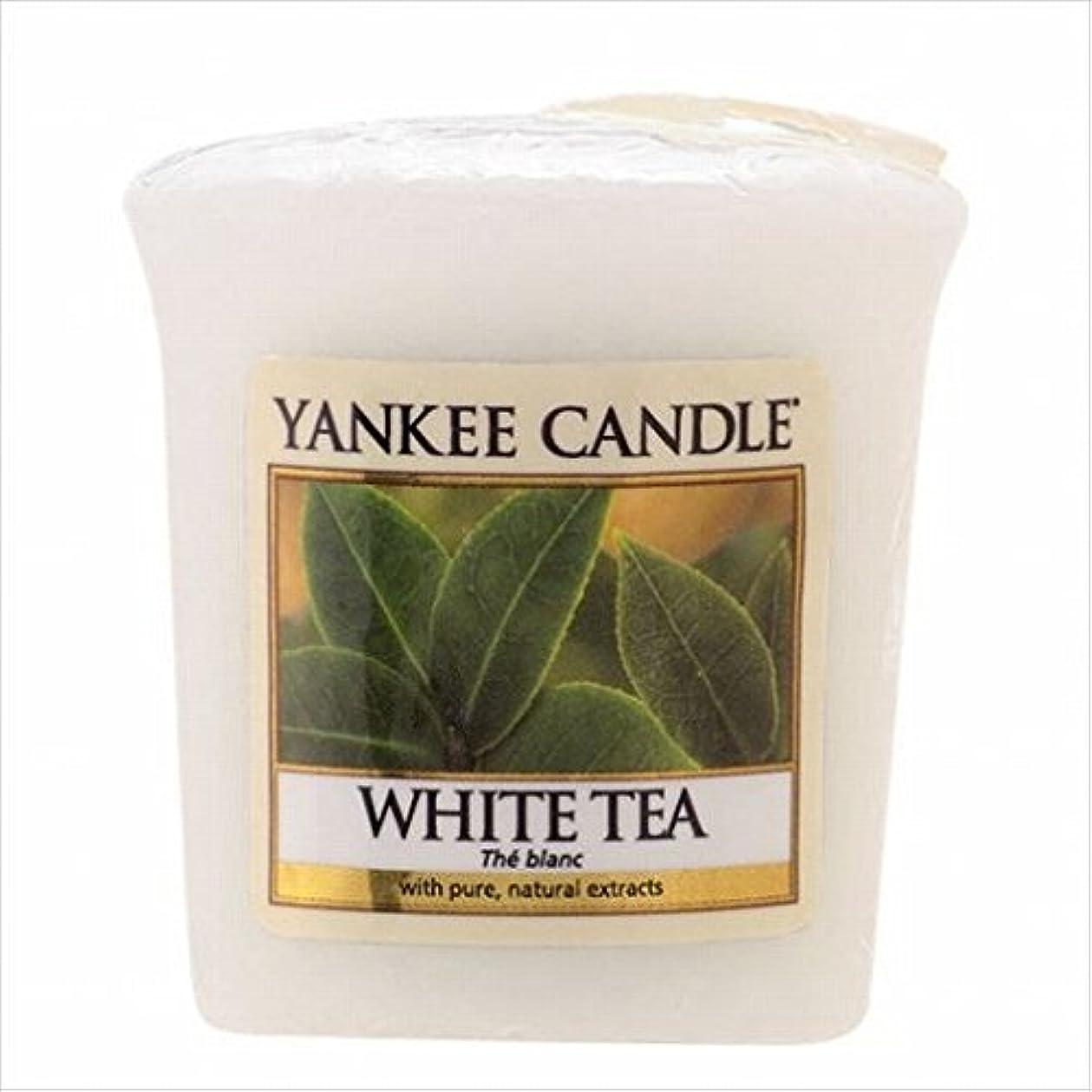 汚れた反射ホテルヤンキーキャンドル(YANKEE CANDLE) YANKEE CANDLE サンプラー 「 ホワイトティー 」6個セット