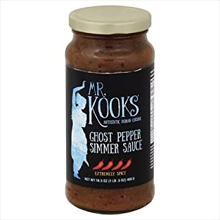 Mr Kooks Ghost Pepper Curry, 16.5 Fluid Ounce - 6 per case.