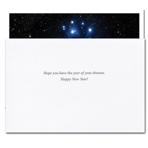 Sight of the Stars: New Year Holiday Cards - box of 10 cards and envelopes Photo #2