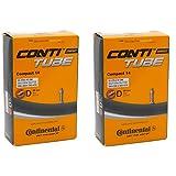 2本セット コンチネンタル Continental Compact 14 英式チューブ 14x1 1/4~14x1 1/2(32-279/47-298,350x32A/350x47A) [並行輸入品]