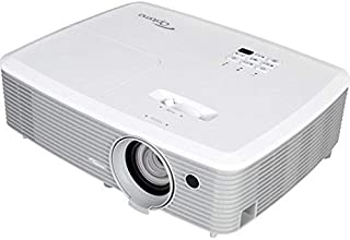 Optoma 3300 Lumen Business Projector, White (Renewed)