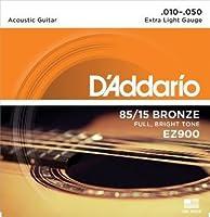 D'Addario EZ900 85/15 アメリカンブロンズ EZ Extra Light(10-50) ダダリオ アコースティックギター弦 EZ-900 【国内正規品】