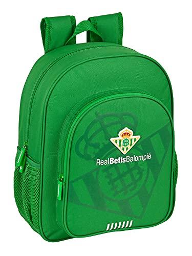 safta Mochila Escolar Junior de Real Betis Balompié, 320x120x380 mm