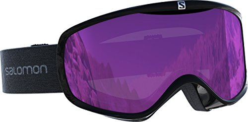 Salomon, Sense, L40518500, dames-skibril, wit (white-corail)/universeel super white,