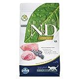 Farmina Natural And Delicious Lamb Grain-Free Formula Dry Cat Food, 3.3-Pound