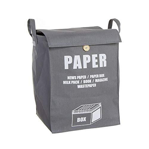 Hogar Deco Cesta Reciclaje Papel 40 cm