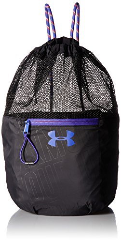 Girl's Under Armour Girls' Bucket Bag,Black (001)/Penta Pink, One Size