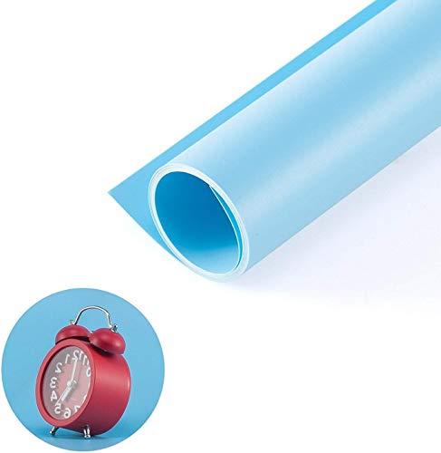 Selens PVC Telón de Fondo 68*130cm Background Backdrop Mate para Fotografía Fotos Estudio - Azul