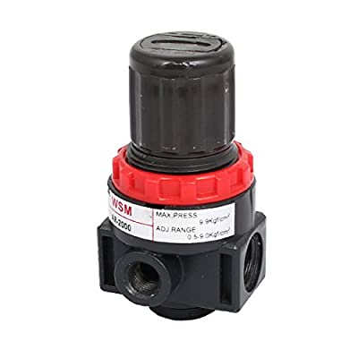 Uxcell a15121500ux0010 Pneumatic Source Treatment Air Filter Pressure Regulator 0.5-9Kgf/cm2 by uxcell