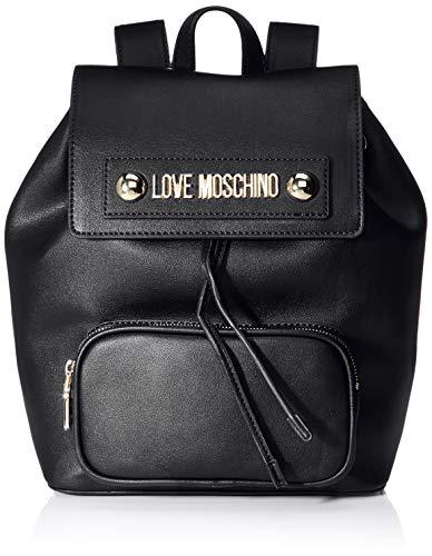 Love Moschino Unisex-Erwachsene Jc4030pp18lc0000 Rucksackhandtaschen, Schwarz (Nero), 28x13x26 Centimeters