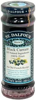 St Dalfour Black Currant 100% Fruit Conserve ( 6x10 OZ)