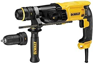 DeWalt 3 Mode 900W SDS-Plus Hammer Drill with QCC, 28 mm, D25144K-B5