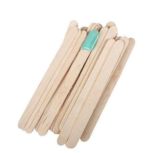 200 palos de madera con colores naturales para manualidades 15,2 cm de largo. etc depresores de lengua