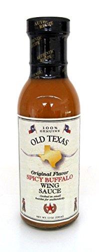 Old Texas, Original Flavor Spicy Buffalo Wing Sauce, 350ml