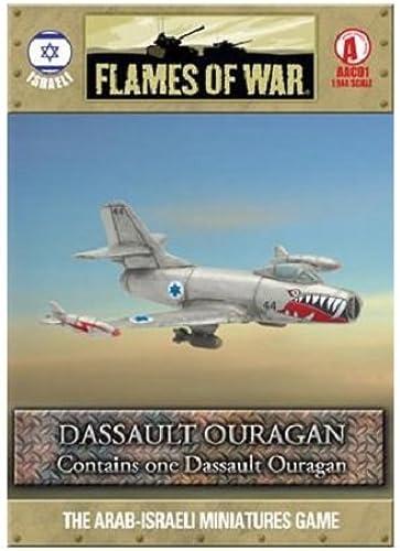 Dassault Ouragan by Battlefront Miniatures