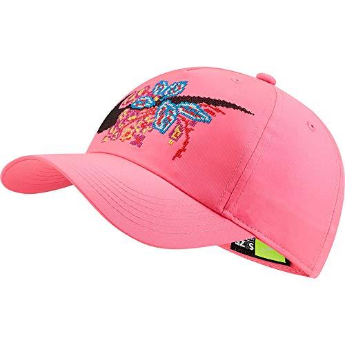 Nike Kinder H86 Girls Floral Kappe, Hyper Pink, 1size