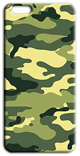 Mixroom - Cover Custodia Back Case in TPU Silicone Morbido per Apple iPhone 6 6s Fantasia Mimetica Militare F87