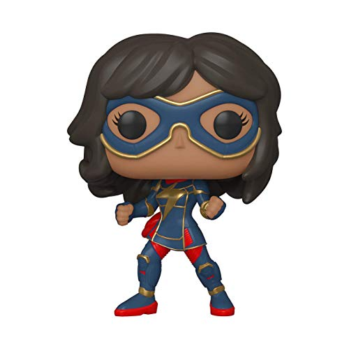 Funko Pop Marvel: Avengers Game- Kamala Khan (Stark Tech Suit), Multicolor