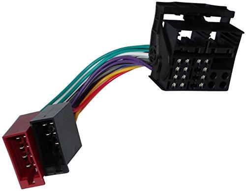AERZETIX: Adaptateur Faisceau câble fiche ISO pour autoradio d'origine pour Auto Voiture