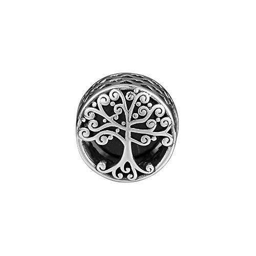 WUXEGHK Charms 925 Silber Original Fit Pandora Armbänder Sterling Silber Family Roots Charm Perlen Für DIY Frauen Schmuck
