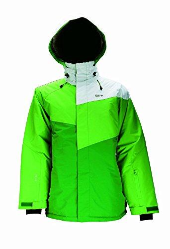 2117 of Sweden Herren Skijacke Mens Jacket Grycksbo, Green Comb, XXXL